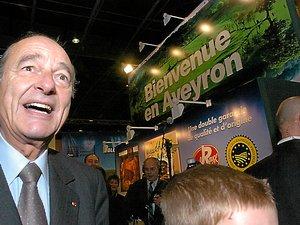 Jacques Chirac est venu à plusieurs reprises en Aveyron. Comme président du RPR, Premier ministre et Président de la République. Mais jamais, paradoxalement, comme ministre de l'Agriculture.