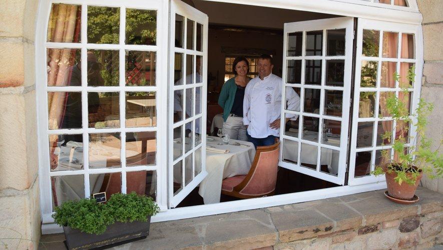 Le chef Rémy Simonet sa compagne Suzanna fermeront les portesdu restaurant le 31 décembre, jusqu'au 14 février.