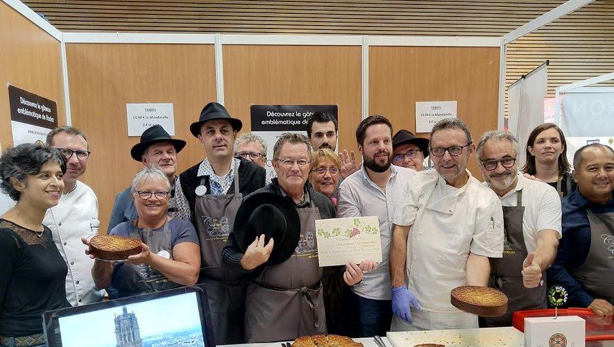 La remise du certificat d'excellence s'est déroulée hier au salon Fabriqué en Aveyron.