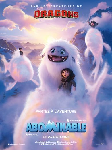 """Abominable"" sortira le 23 octobre en France"