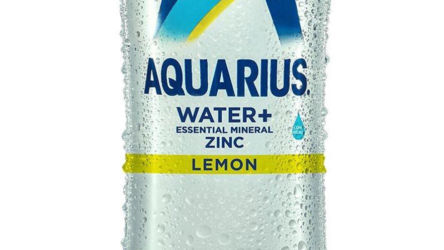 Coca-Cola lance Aquarius, une eau enrichie en zinc