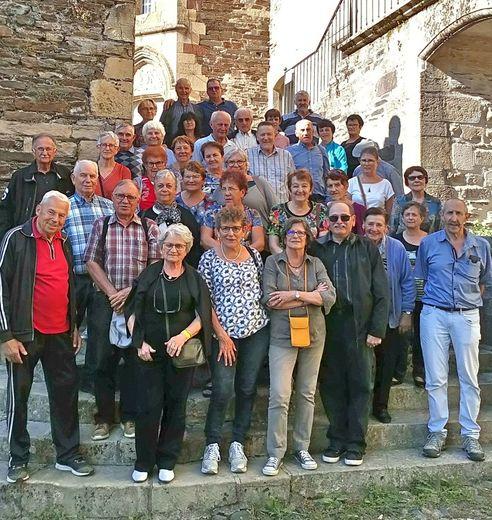 Visite du château d'ESTAING.