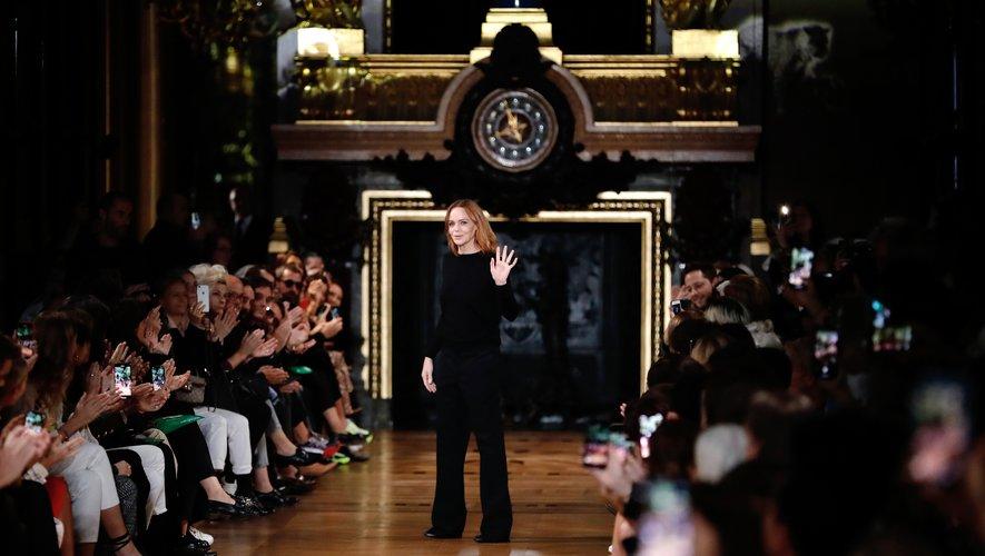 """""""Le monde appelle au changement et il est de notre devoir d'agir maintenant"""", a déclaré la créatrice, une des pionnières de la mode éthique."""