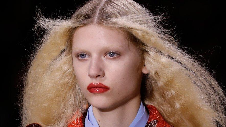 Lèvres appuyées chez Louis Vuitton