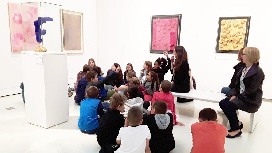 Art et citoyenneté au programme des collégiens de la Viadène