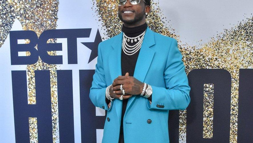La rappeur américain Gucci Mane aux BET Hip Hop Awards à Miami Beach , le 6 octobre 2018.