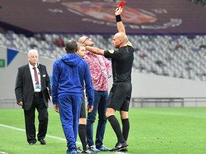 Pierre-Olivier Murat suspendu quatre rencontres après son expulsion lors du match contre Sochaux.