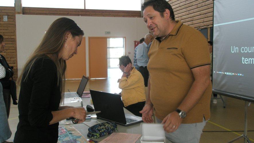 L'Agas étaint présente au forum des associations.