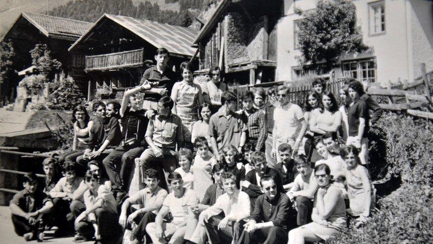 Les jeunes touristes des années soixante.