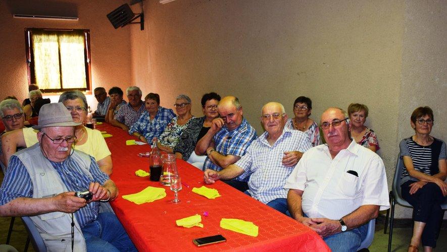 La chorale de Saint-Cyprien est venue charmer les convives