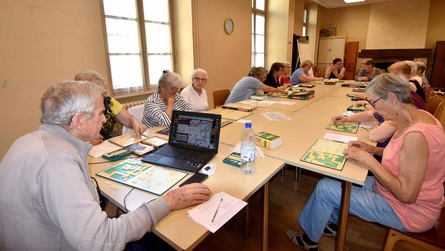 Reprise du club de scrabble.