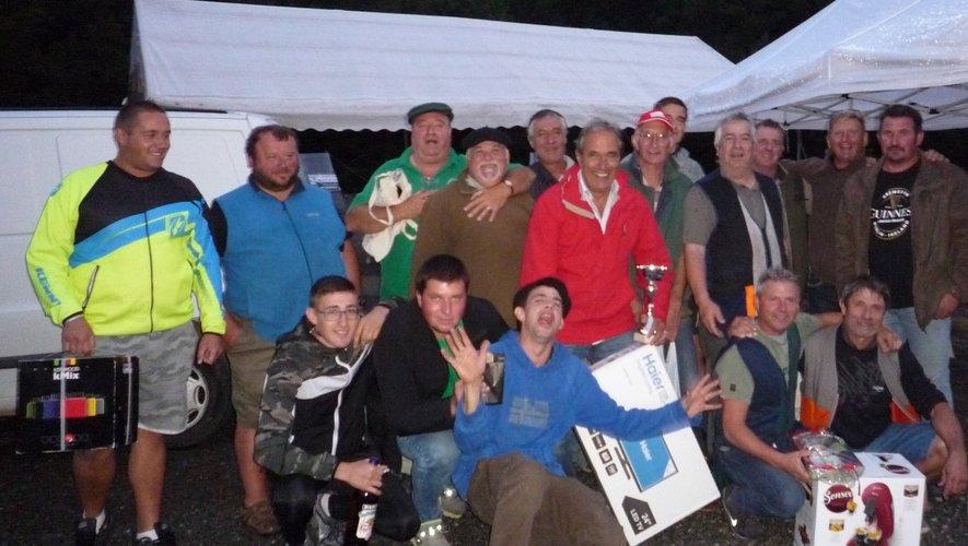 Les vainqueurs ont été récompensés à la nuit tombée.