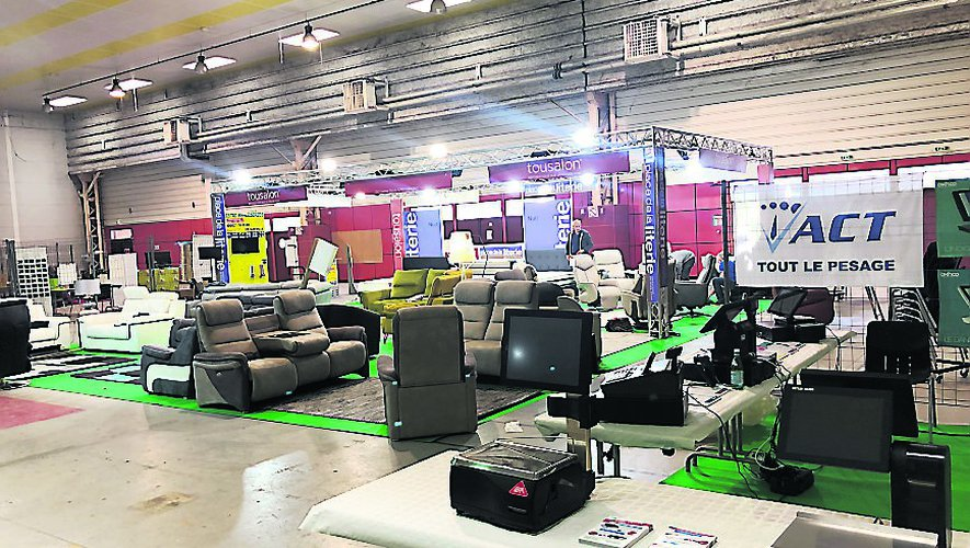 La troisième foire-exposition de Decazeville est inauguré ce vendredi matin à 11 heures au Laminoir.