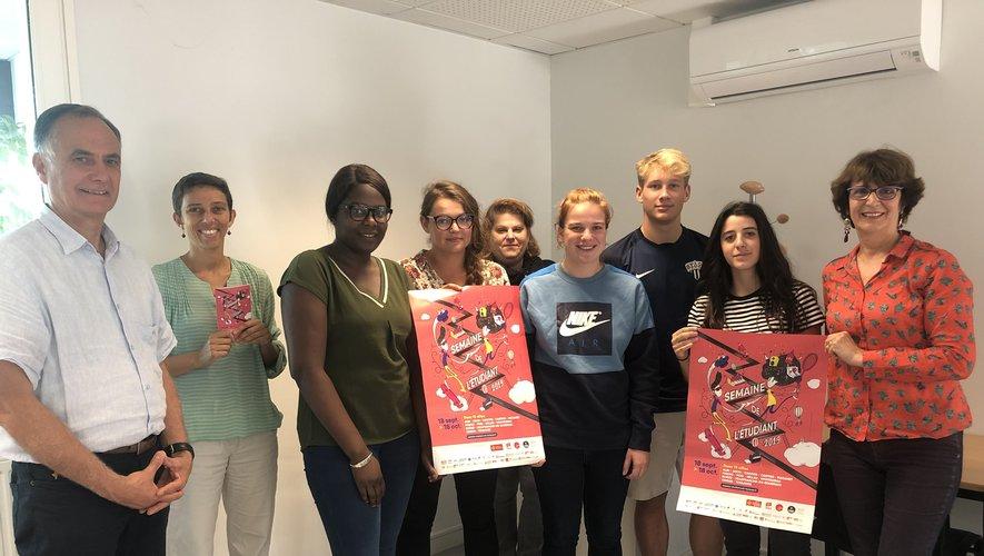Les membres de l'Afev présentent la Semaine de l'étudiant du 8 au 12 octobre.