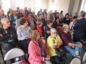 Les nombreux riverains ont paricipé à cette rencontre avec le maire Jean-Philippe Sadoul.