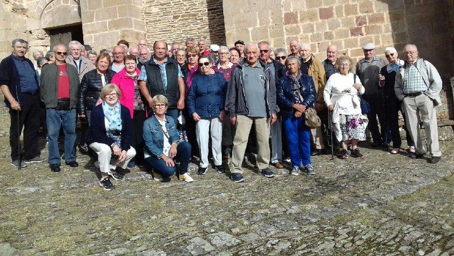 Une excellente journée de détente pour les 54 voyageurs et les nouveaux adhérents du club.