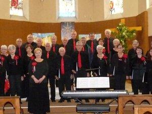 Un troisième concert pour les 40 ans de l'Ensemble Vocal du Causse