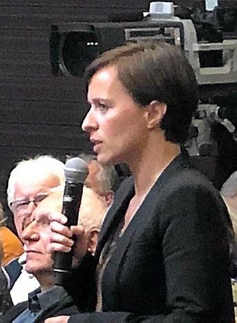 Annabel Montels-Estève, bâtonnier de l'Aveyron.
