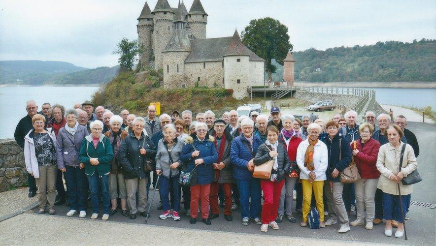 Visite culturelle à Bort-les-Orgues  pour les membres du club de l'Amitié