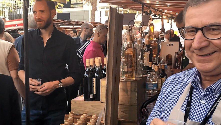 Pour Guy Cayssials, c'est chaque année depuis 20 ans un vrai plaisir de participer à ce marché de Bercy.