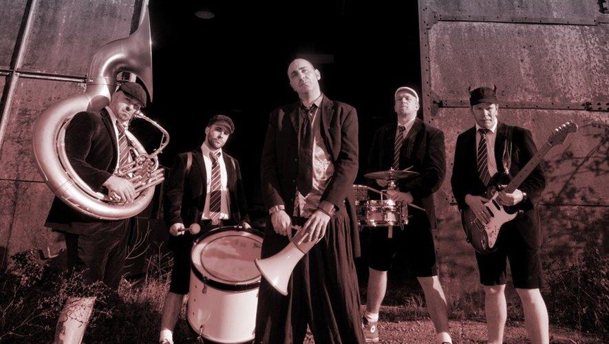 La fanfare Rockbox s'affichera à Villefranchement rock.