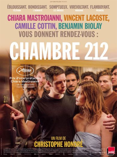 """Chambre 212"" de Christophe Honoré sort en salles mercredi"