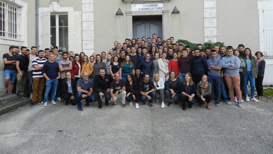 Près d'une centaine de jeunes a intégrélors de cette rentrée le pôle de formation de la Chambre d'agriculture à Bernussou.