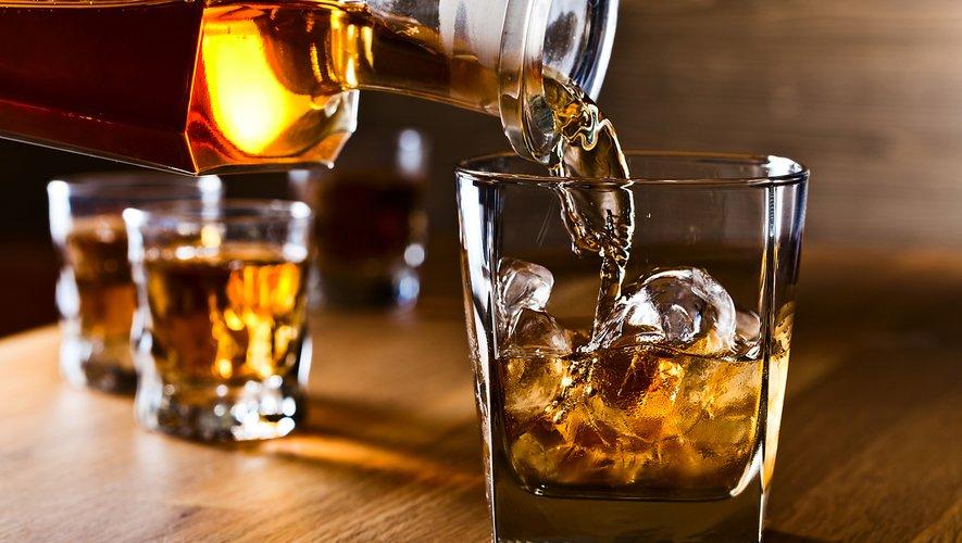 Le whisky et le rhum étaient l'an dernier les spiritueux les plus achetés en France
