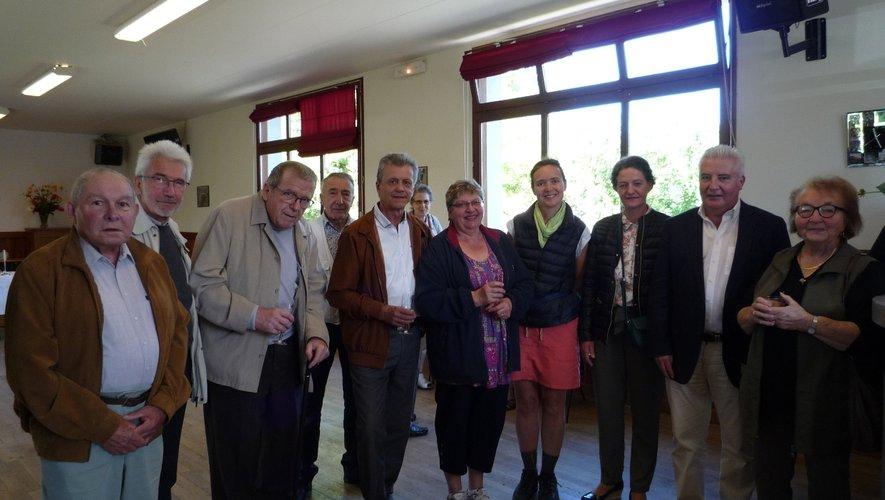 Une rencontre toujours appréciée au village de Verrières.