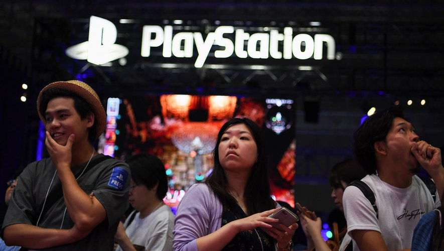 Le stand PlayStation au Tokyo Game Show, en septembre 2019.