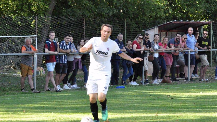 Le capitaine Mathieu Gayraud en action.
