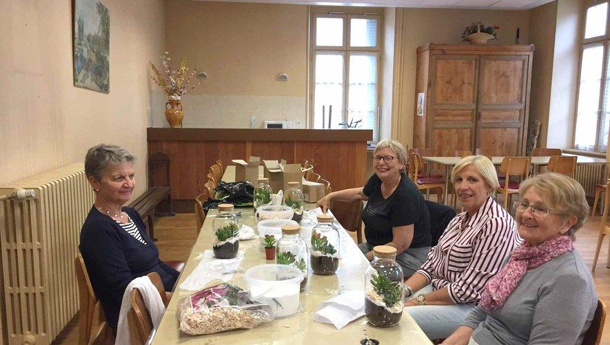 Reprise de l'atelier floral marmot