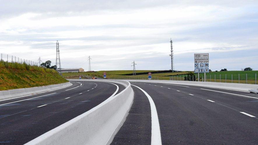 La déviation de Baraqueville enfin accessible aux véhicules dès lundi.