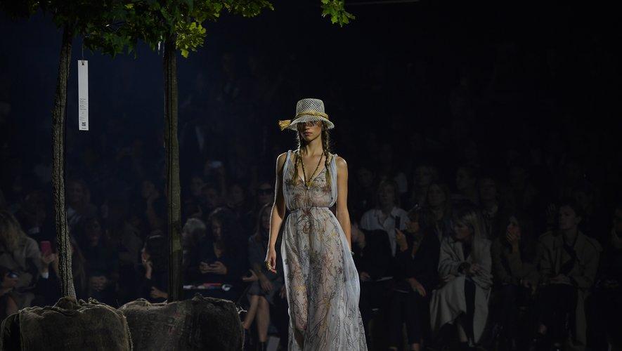 Rebecca Leigh Longendyke pour Dior. Paris, le 24 septembre 2019.
