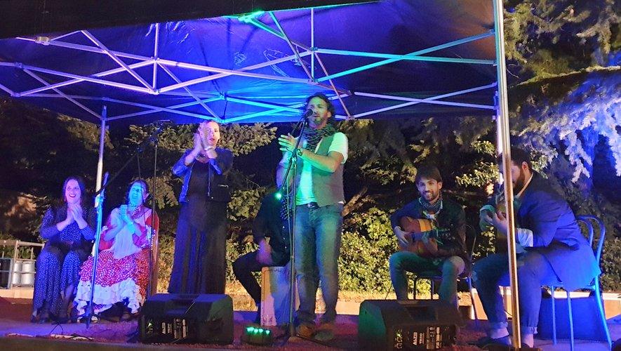 """Une super-soirée flamenco au """"Luctabar"""""""