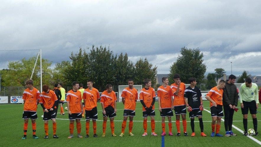 L'équipe druelloise des U 19.