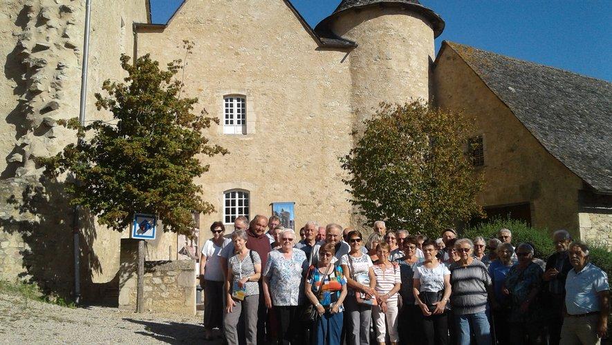 visite du château de Bournazel