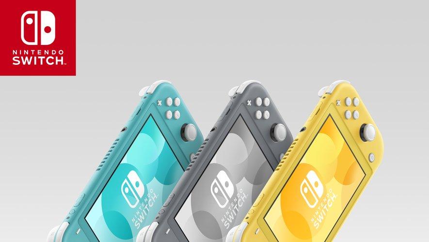 La Nintendo Switch Lite est disponible depuis septembre dernier