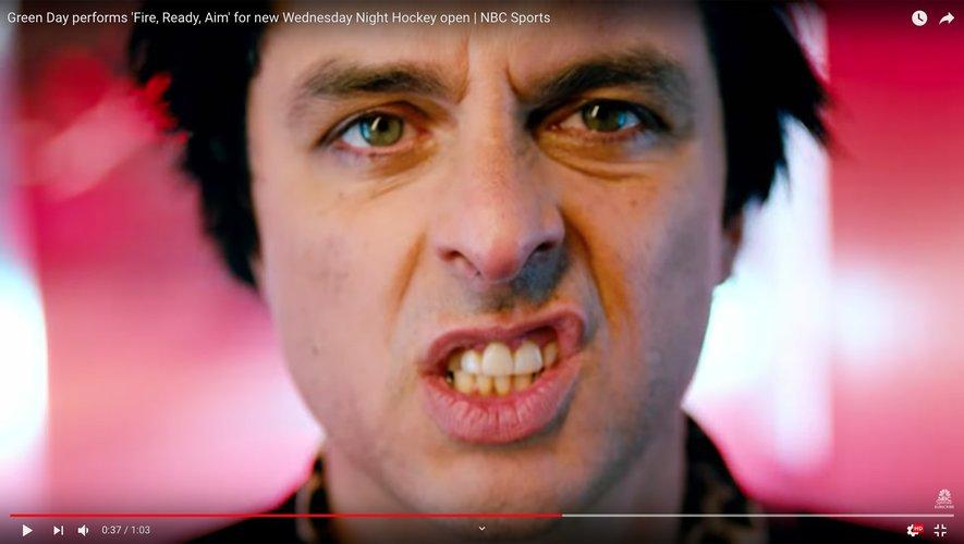 "Green Day a dévoilé l'hymne NHL ""Fire, Ready, Aim"""