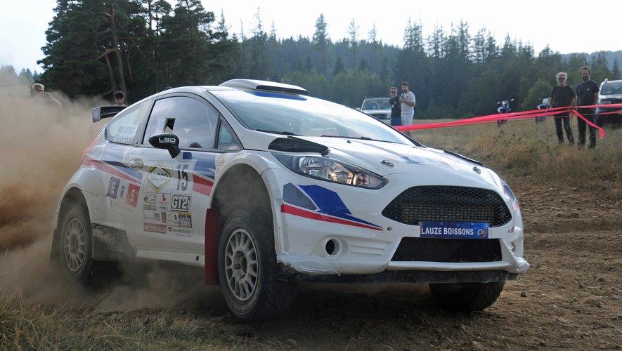 Après avoir participé à une épreuve du WRC, le Millavois Patrick Dejean est de retour sur ses terres.