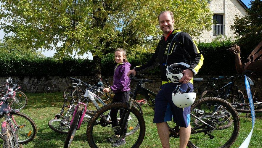 Sourire et bonne humeur à Concourès pour la  journée « Faites du Raid » impulsée par la Fédération nationale française de triathlon.