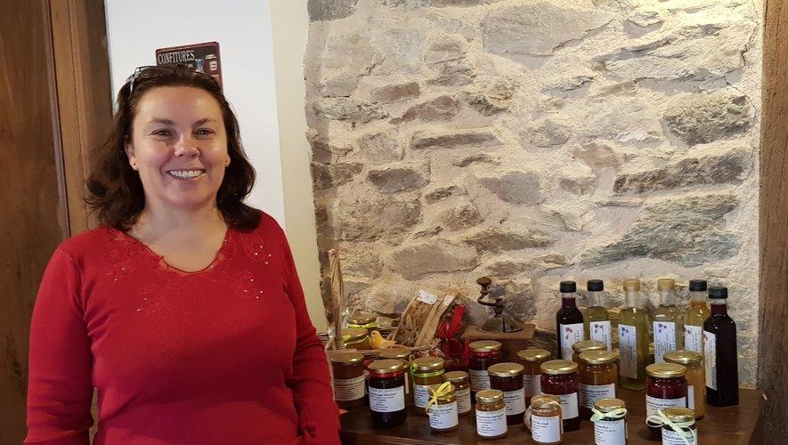 Laure Camarasa organiseune dégustation de ses produitset un mini-marché, chez elle,dimanche 13 octobre.