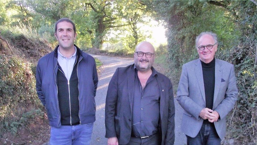 Nicolas Bessière, Christophe Méry et Jean-Michel Lalle.