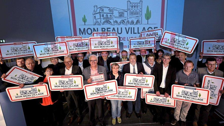 """La remise des prix de """"Mon plus beau village"""", à Toulouse."""