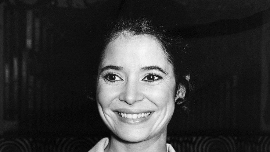 """Cette femme aux yeux et aux cheveux très noirs avait reçu en 1974 le prix d'interprétation féminine à Cannes pour """"Les Violons du Bal"""" de Michel Drach."""