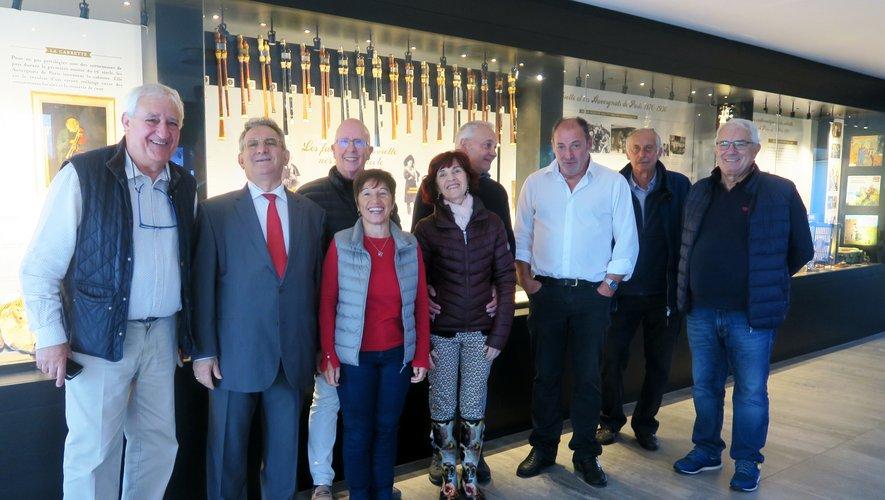 Le groupe vocal de Monaco en a profité pour visiter le musée de la Cabrette à Cantoin.