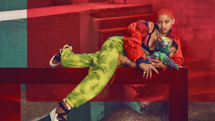 Chen Man a photographié Slick Woods et son fils pour la campagne #UGGLIFE.