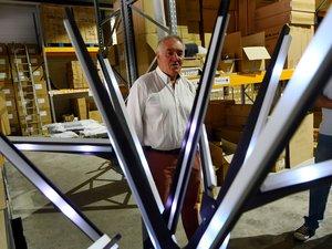 Didier Auzuech fourmille d'idées lumineuses.