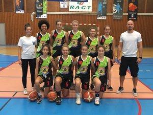 Les U18 féminines en Régional division 2