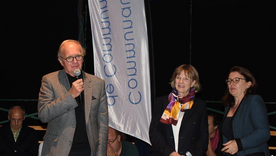 Jean-Michel Lalle, Christine Presne et  Sylvie Lacan ont lancé la saison culturelle.